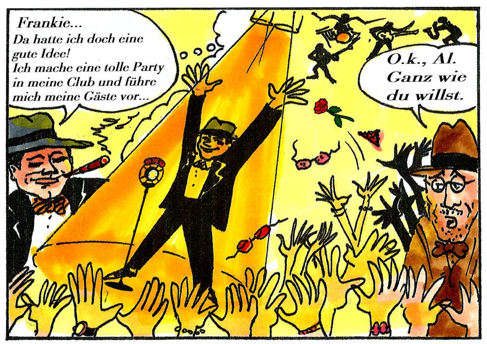 Auszug aus dem Capne Comic zur Show